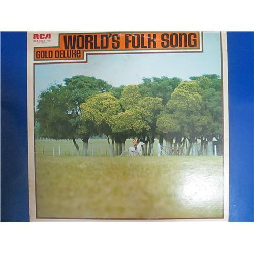 Виниловые пластинки  Various – World's Folk Song Gold Deluxe / RCA-8107-8 в Vinyl Play магазин LP и CD  01571