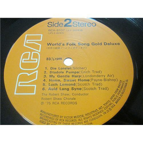 Картинка  Виниловые пластинки  Various – World's Folk Song Gold Deluxe / RCA-8107-8 в  Vinyl Play магазин LP и CD   01571 5