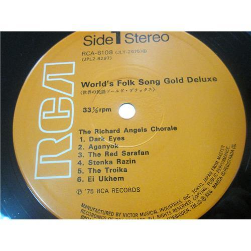 Картинка  Виниловые пластинки  Various – World's Folk Song Gold Deluxe / RCA-8107-8 в  Vinyl Play магазин LP и CD   01571 6
