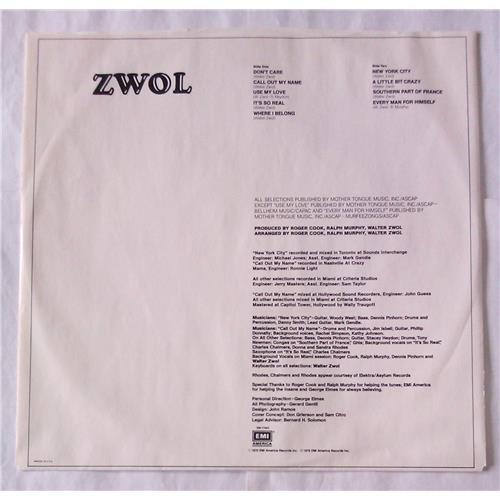 Картинка  Виниловые пластинки  Walter Zwol – Zwol / SW-17005 в  Vinyl Play магазин LP и CD   06505 3