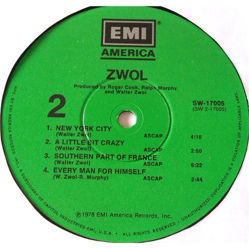 Картинка  Виниловые пластинки  Walter Zwol – Zwol / SW-17005 в  Vinyl Play магазин LP и CD   06505 5
