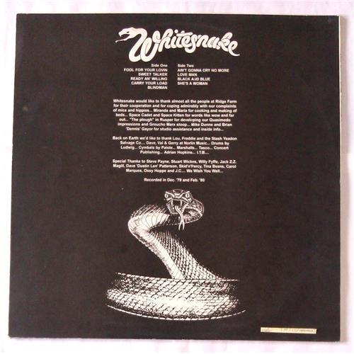 Картинка  Виниловые пластинки  Whitesnake – Ready An' Willing / П93 00717-8 / M (С хранения) в  Vinyl Play магазин LP и CD   06620 1