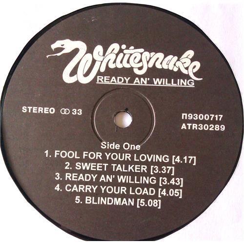 Картинка  Виниловые пластинки  Whitesnake – Ready An' Willing / П93 00717-8 / M (С хранения) в  Vinyl Play магазин LP и CD   06620 2