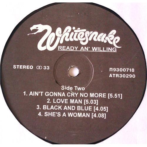 Картинка  Виниловые пластинки  Whitesnake – Ready An' Willing / П93 00717-8 / M (С хранения) в  Vinyl Play магазин LP и CD   06620 3