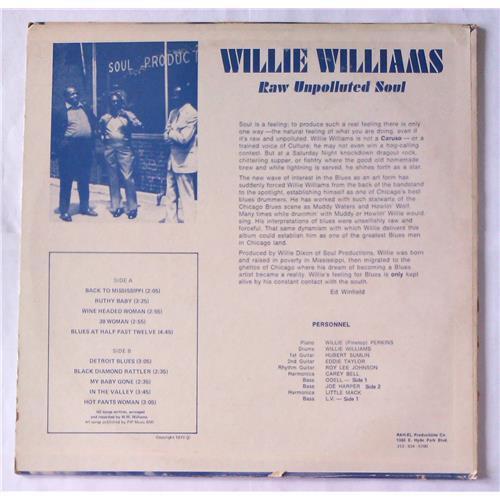 Картинка  Виниловые пластинки  Willie Williams – Raw Unpolluted Soul Black Diamond Rattler / SR-1001 в  Vinyl Play магазин LP и CD   05674 1