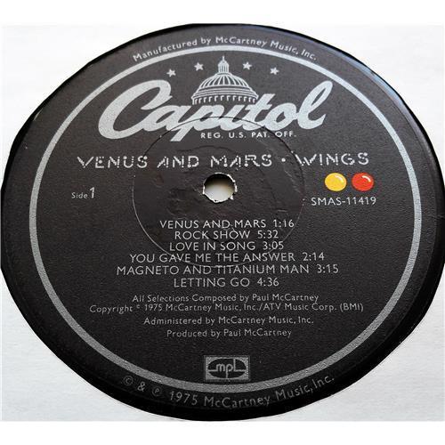 Картинка  Виниловые пластинки  Wings – Venus And Mars / SMAS-11419 в  Vinyl Play магазин LP и CD   07685 4