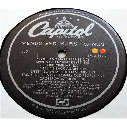 Картинка  Виниловые пластинки  Wings – Venus And Mars / SMAS-11419 в  Vinyl Play магазин LP и CD   07685 5