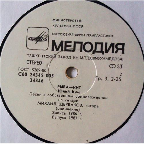 Картинка  Виниловые пластинки  Юлий Ким – Рыба-Кит / С60 24345 005 в  Vinyl Play магазин LP и CD   05300 3