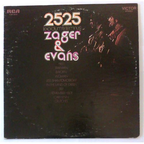 Виниловые пластинки  Zager & Evans – 2525 (Exordium & Terminus) / LSP-4214 в Vinyl Play магазин LP и CD  04719