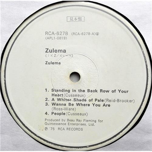 Картинка  Виниловые пластинки  Zulema – Zulema / RCA-6278 в  Vinyl Play магазин LP и CD   07462 4