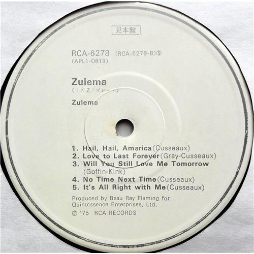 Картинка  Виниловые пластинки  Zulema – Zulema / RCA-6278 в  Vinyl Play магазин LP и CD   07462 5