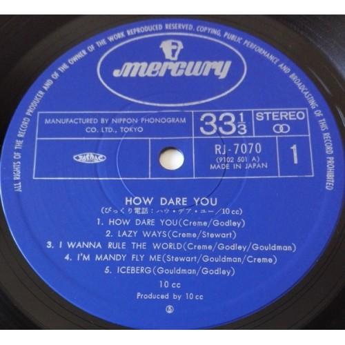 Картинка  Виниловые пластинки  10cc – How Dare You! / RJ-7070 в  Vinyl Play магазин LP и CD   09867 2
