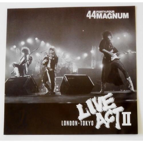 Картинка  Виниловые пластинки  44Magnum – Live Act II / MOON-38001~2 в  Vinyl Play магазин LP и CD   09855 12