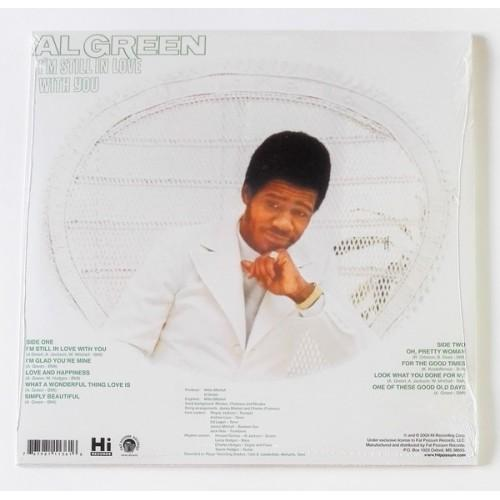 Картинка  Виниловые пластинки  Al Green – I'm Still In Love With You / FPH1136-1 / Sealed в  Vinyl Play магазин LP и CD   10010 1