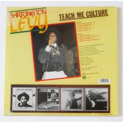 Картинка  Виниловые пластинки  Barrington Levy – Teach Me Culture / LL LP 010-1 / Sealed в  Vinyl Play магазин LP и CD   09749 2