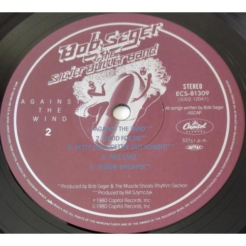 Картинка  Виниловые пластинки  Bob Seger & The Silver Bullet Band – Against The Wind / ECS-81309 в  Vinyl Play магазин LP и CD   09849 7