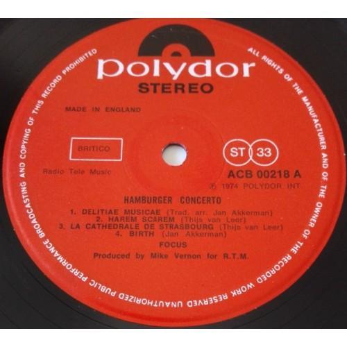 Картинка  Виниловые пластинки  Focus – Hamburger Concerto / 2442 124 в  Vinyl Play магазин LP и CD   09859 5