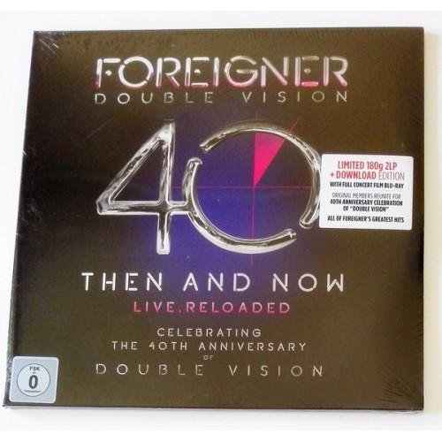 Виниловые пластинки  Foreigner – Double Vision: Then And Now Live.Reloaded / LTD / 0214169EMU / Sealed в Vinyl Play магазин LP и CD  09746