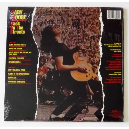 Картинка  Виниловые пластинки  Gary Moore – Back On The Streets / LTD / MVD7823LP / Sealed в  Vinyl Play магазин LP и CD   09723 1