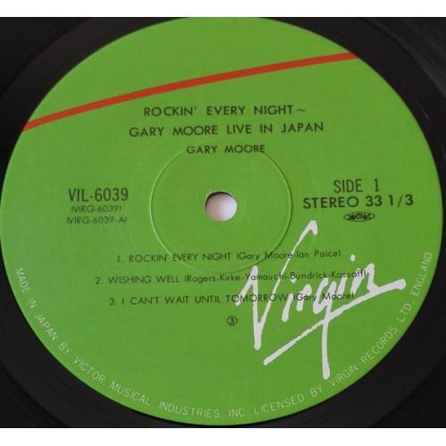 Картинка  Виниловые пластинки  Gary Moore – Rockin' Every Night - Live In Japan / VIL-6039 в  Vinyl Play магазин LP и CD   09851 4
