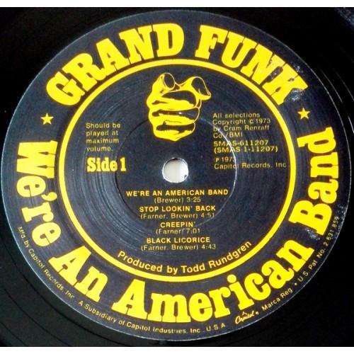 Картинка  Виниловые пластинки  Grand Funk Railroad – We're An American Band / R 132473 в  Vinyl Play магазин LP и CD   09624 4