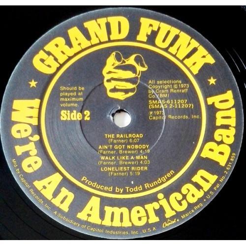 Картинка  Виниловые пластинки  Grand Funk Railroad – We're An American Band / R 132473 в  Vinyl Play магазин LP и CD   09624 5
