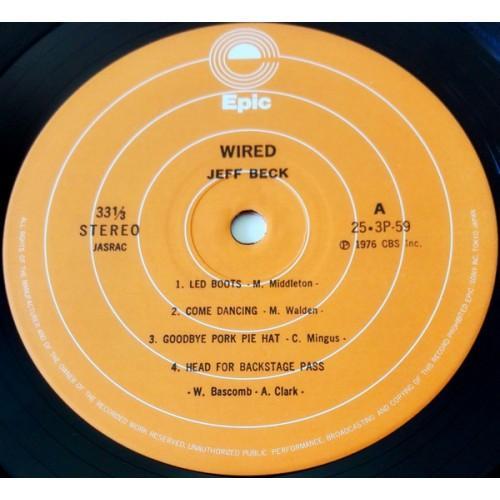 Картинка  Виниловые пластинки  Jeff Beck – Wired / 25·3P-59 в  Vinyl Play магазин LP и CD   09850 3