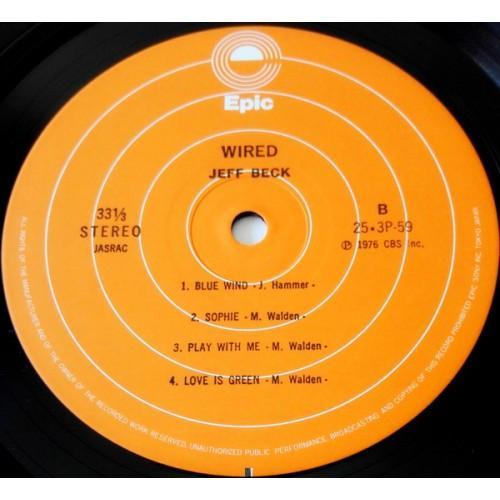 Картинка  Виниловые пластинки  Jeff Beck – Wired / 25·3P-59 в  Vinyl Play магазин LP и CD   09850 4