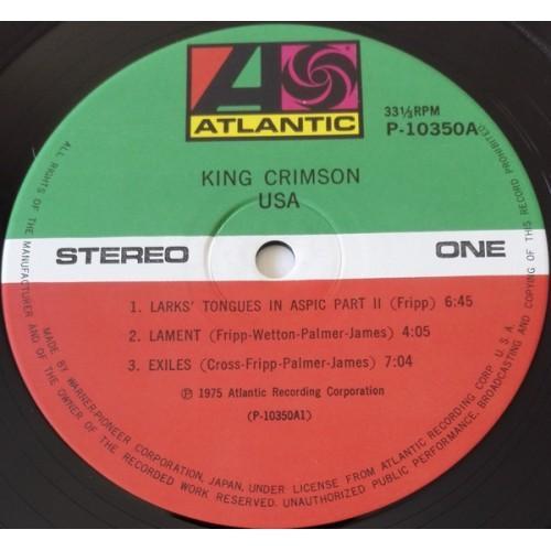 Картинка  Виниловые пластинки  King Crimson – USA / P-10350A в  Vinyl Play магазин LP и CD   09846 1