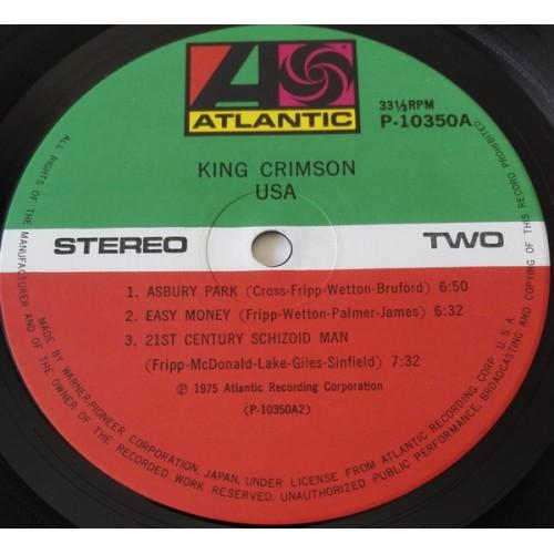 Картинка  Виниловые пластинки  King Crimson – USA / P-10350A в  Vinyl Play магазин LP и CD   09846 2