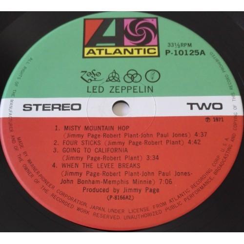 Картинка  Виниловые пластинки  Led Zeppelin – Led Zeppelin IV / P-10125A в  Vinyl Play магазин LP и CD   09858 1