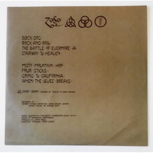Картинка  Виниловые пластинки  Led Zeppelin – Led Zeppelin IV / P-10125A в  Vinyl Play магазин LP и CD   09858 8