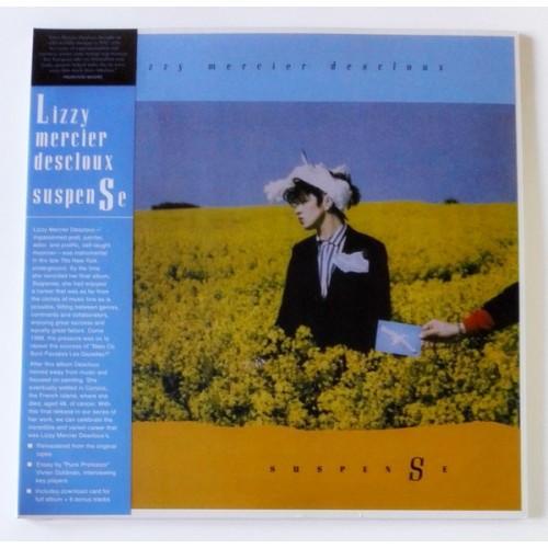 Виниловые пластинки  Lizzy Mercier Descloux – Suspense / LITA 140 / Sealed в Vinyl Play магазин LP и CD  10001