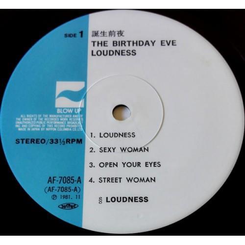 Картинка  Виниловые пластинки  Loudness – The Birthday Eve / AF-7085-A в  Vinyl Play магазин LP и CD   09869 4