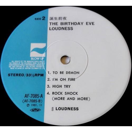 Картинка  Виниловые пластинки  Loudness – The Birthday Eve / AF-7085-A в  Vinyl Play магазин LP и CD   09869 5