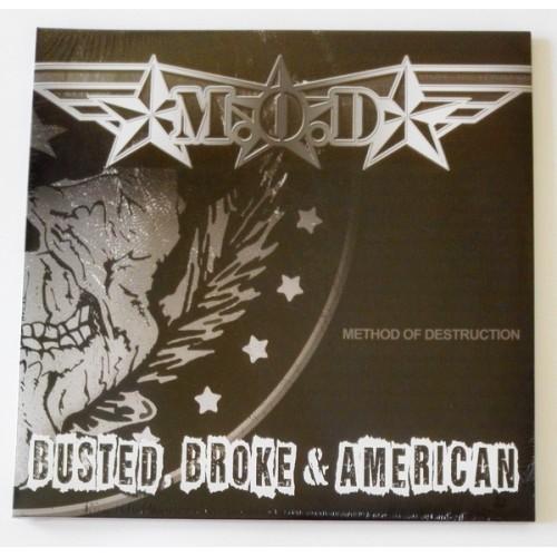 Виниловые пластинки  M.O.D. – Busted, Broke & American / none / Sealed в Vinyl Play магазин LP и CD  09742