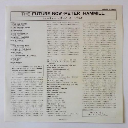 Картинка  Виниловые пластинки  Peter Hammill – The Future Now / CA-1-2202 в  Vinyl Play магазин LP и CD   09862 5