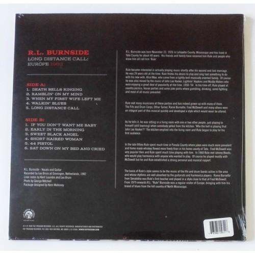 Картинка  Виниловые пластинки  R.L. Burnside – Long Distance Call: Europe 1982 / LTD / FP1561-1 / Sealed в  Vinyl Play магазин LP и CD   10003 1