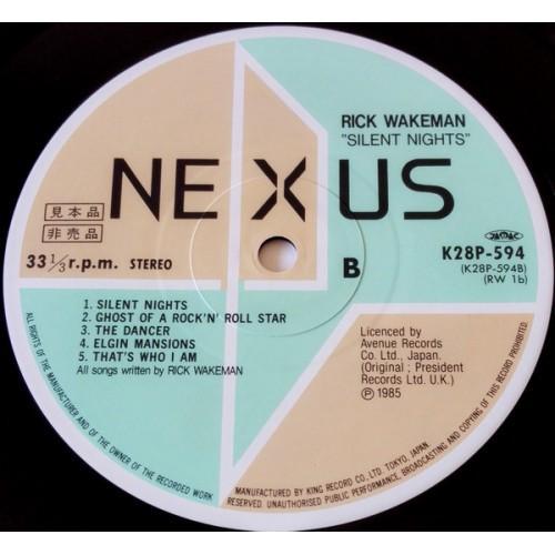 Картинка  Виниловые пластинки  Rick Wakeman – Silent Nights / K28P-594 в  Vinyl Play магазин LP и CD   09866 5
