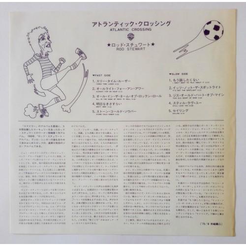 Картинка  Виниловые пластинки  Rod Stewart – Atlantic Crossing / P-6547W в  Vinyl Play магазин LP и CD   09848 6