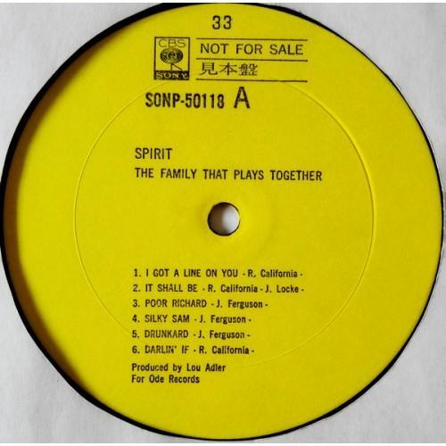 Картинка  Виниловые пластинки  Spirit – The Family That Plays Together / SONP-50118 в  Vinyl Play магазин LP и CD   09618 3