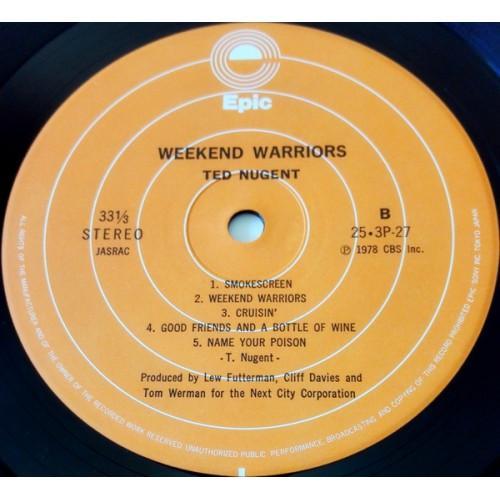 Картинка  Виниловые пластинки  Ted Nugent – Weekend Warriors / 25·3P-27 в  Vinyl Play магазин LP и CD   09854 5