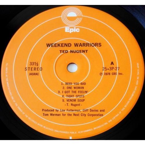 Картинка  Виниловые пластинки  Ted Nugent – Weekend Warriors / 25·3P-27 в  Vinyl Play магазин LP и CD   09854 4