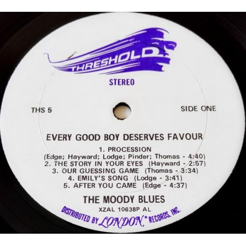 Картинка  Виниловые пластинки  The Moody Blues – Every Good Boy Deserves Favour / THS 5 в  Vinyl Play магазин LP и CD   09835 1