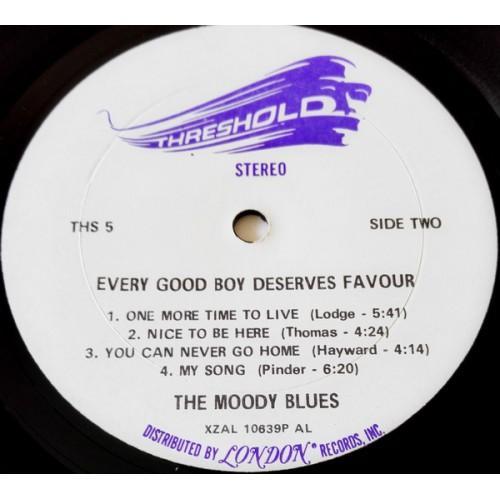 Картинка  Виниловые пластинки  The Moody Blues – Every Good Boy Deserves Favour / THS 5 в  Vinyl Play магазин LP и CD   09835 2