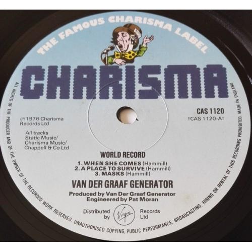 Картинка  Виниловые пластинки  Van Der Graaf Generator – World Record / CAS 1120 в  Vinyl Play магазин LP и CD   09832 1