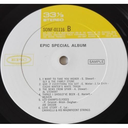 Картинка  Виниловые пластинки  Various – Epic Special Album / SONF-01116 в  Vinyl Play магазин LP и CD   09767 3