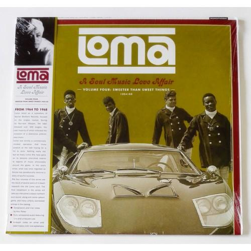Виниловые пластинки  Various – Loma: A Soul Music Love Affair Volume 4: Sweeter Than Sweet Things 1964-1968 / FDR 627 / Sealed в Vinyl Play магазин LP и CD  09732