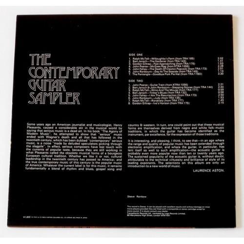 Картинка  Виниловые пластинки  Various – The Contemporary Guitar Sampler / YS-7022-LA в  Vinyl Play магазин LP и CD   09770 2