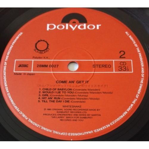 Картинка  Виниловые пластинки  Whitesnake – Come An' Get It / 28MM 0027 в  Vinyl Play магазин LP и CD   09868 5